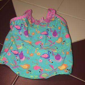 Flamingo swimsuit top. The top only. Size 24M